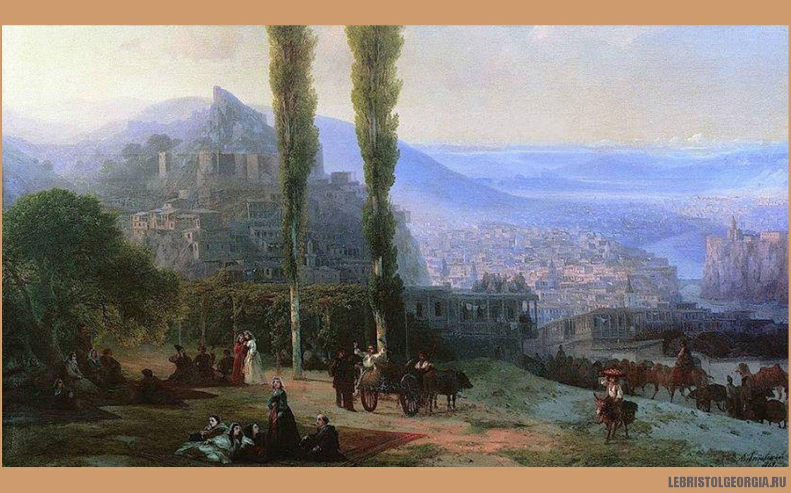 Старый город Тбилиси