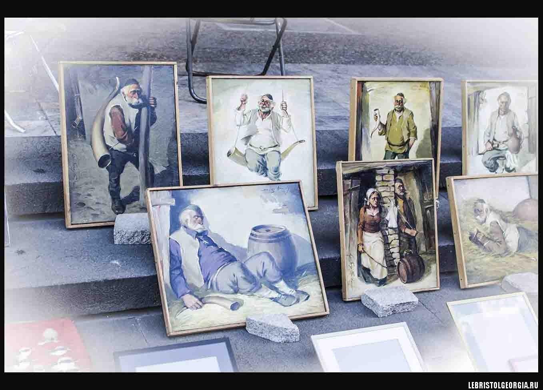 блошиный рынок Тбилиси