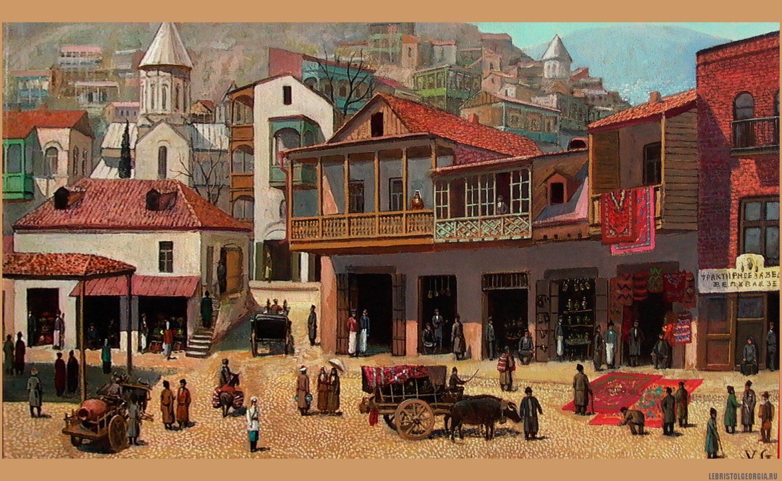 Шайтан базар. Джованни Вепхвадзе