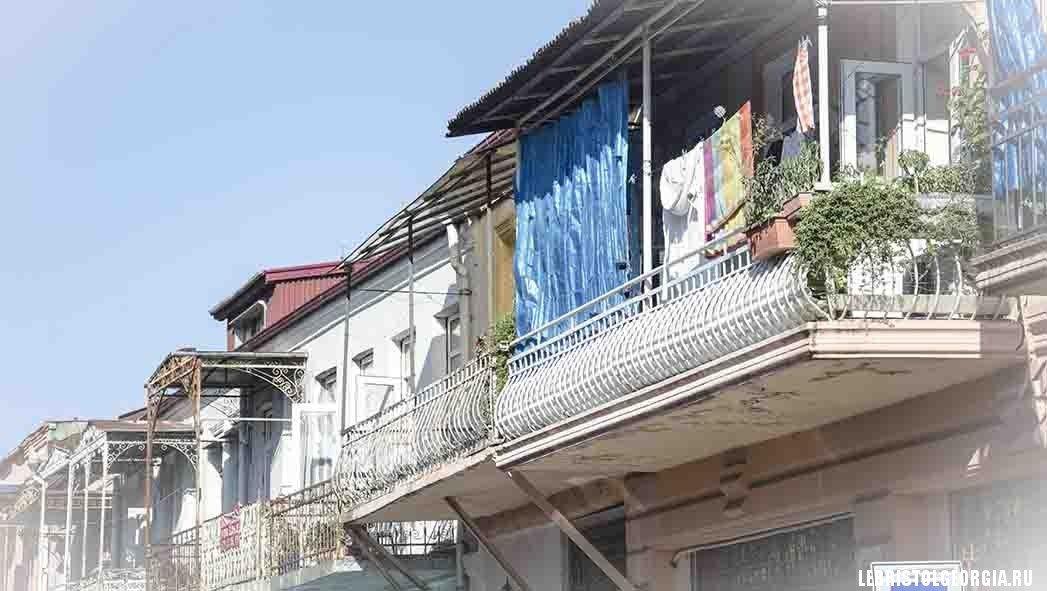 дома в старом батуми