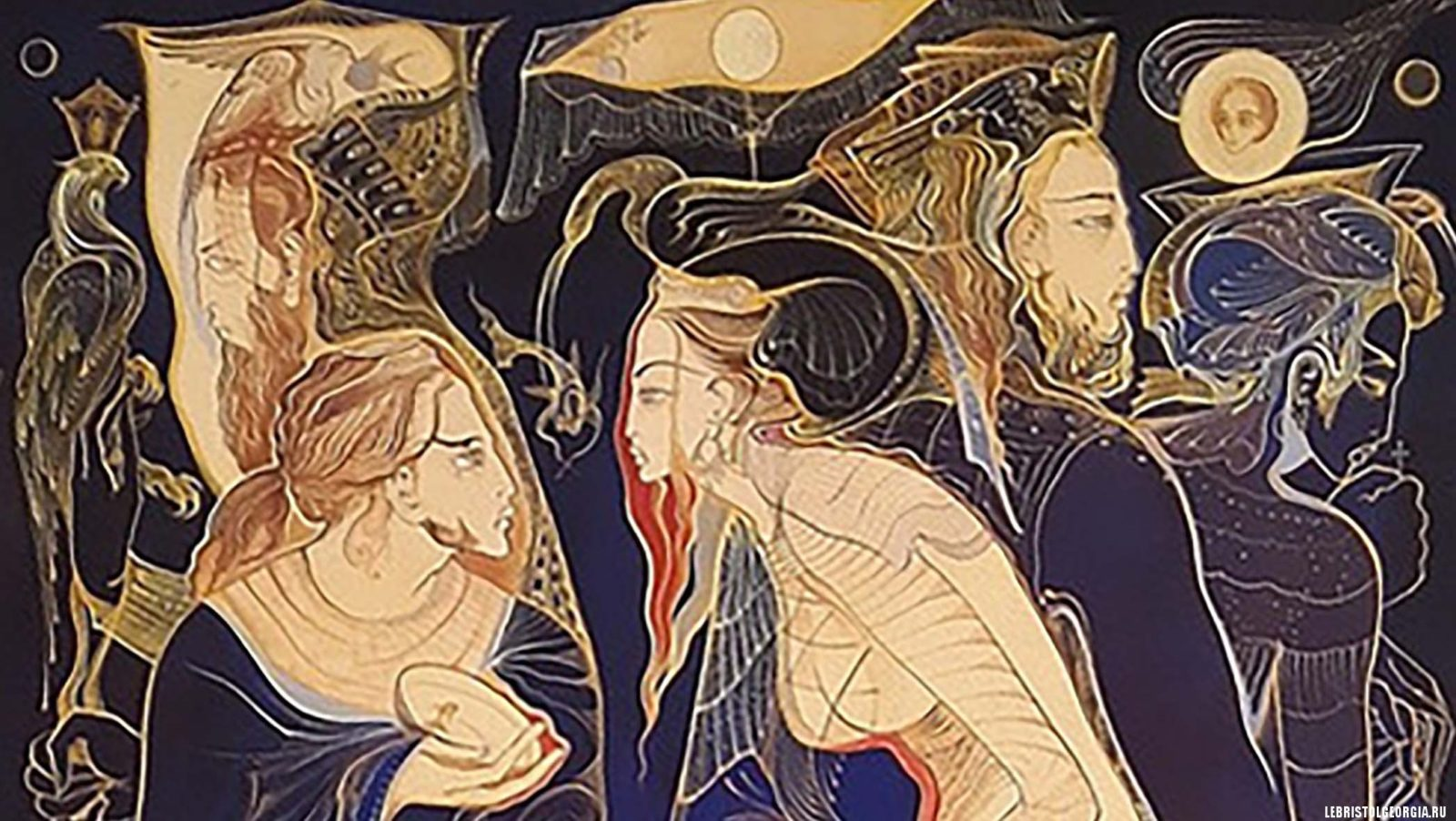 красивые картины русудан петвиашвили