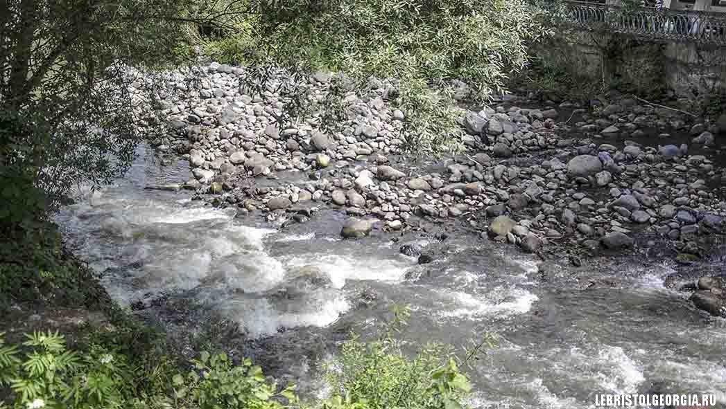 река Боржоми