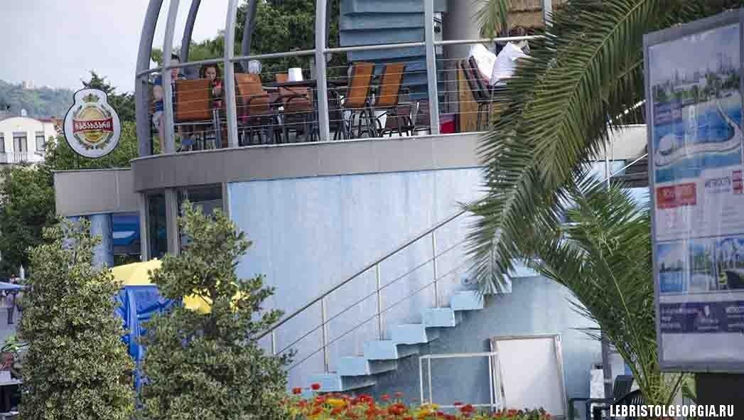 ресторан в парке Батуми