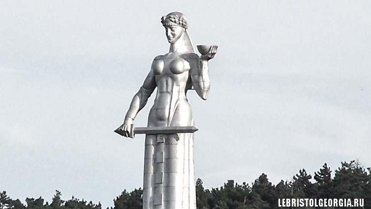 статуя мать грузия