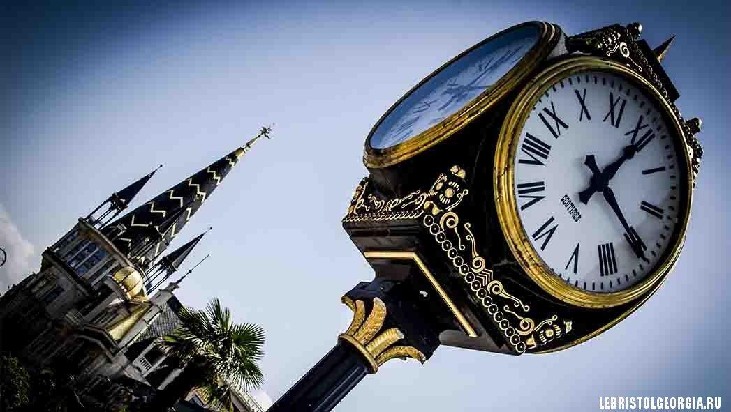 часы в батуми