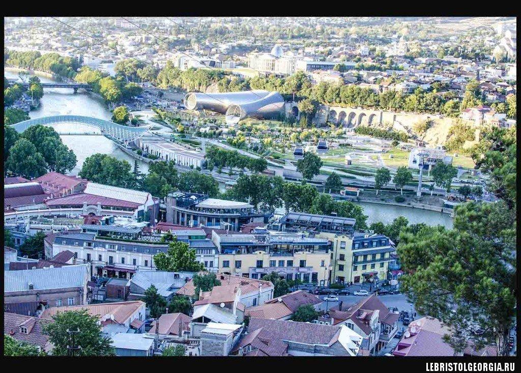 канатная дорога в Тбилиси
