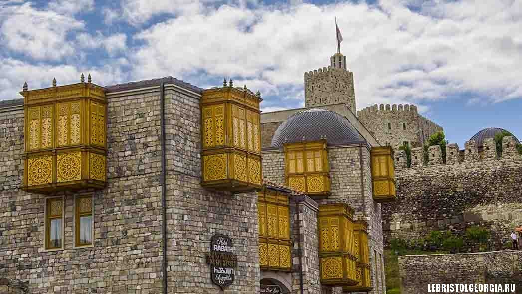 архитектура крепости Рабат