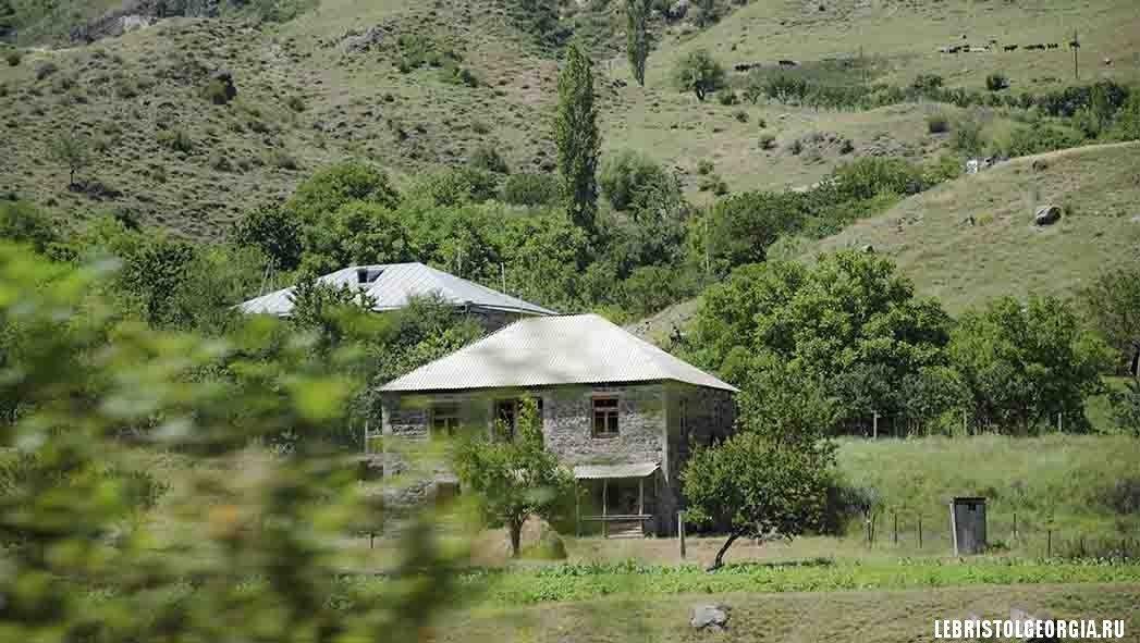 деревни в Грузии