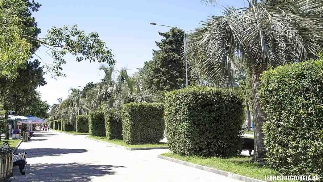 приморский бульвар грузия батуми