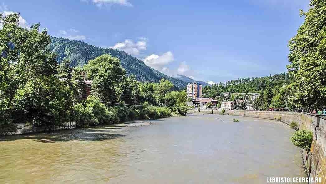 река в Боржоми