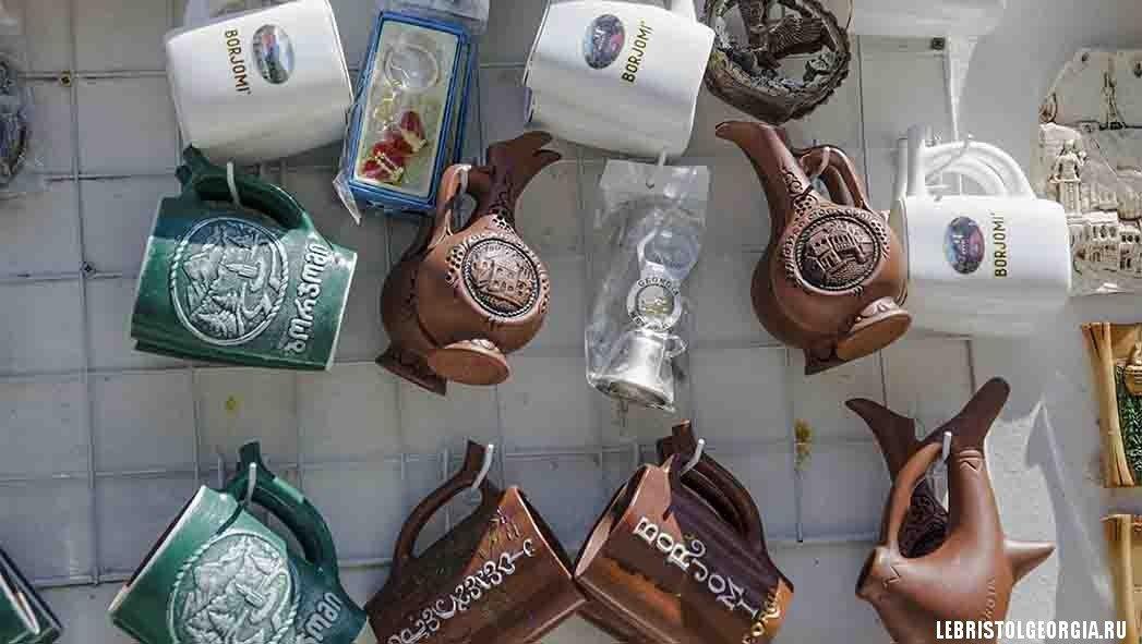 сувениры в Боржоми