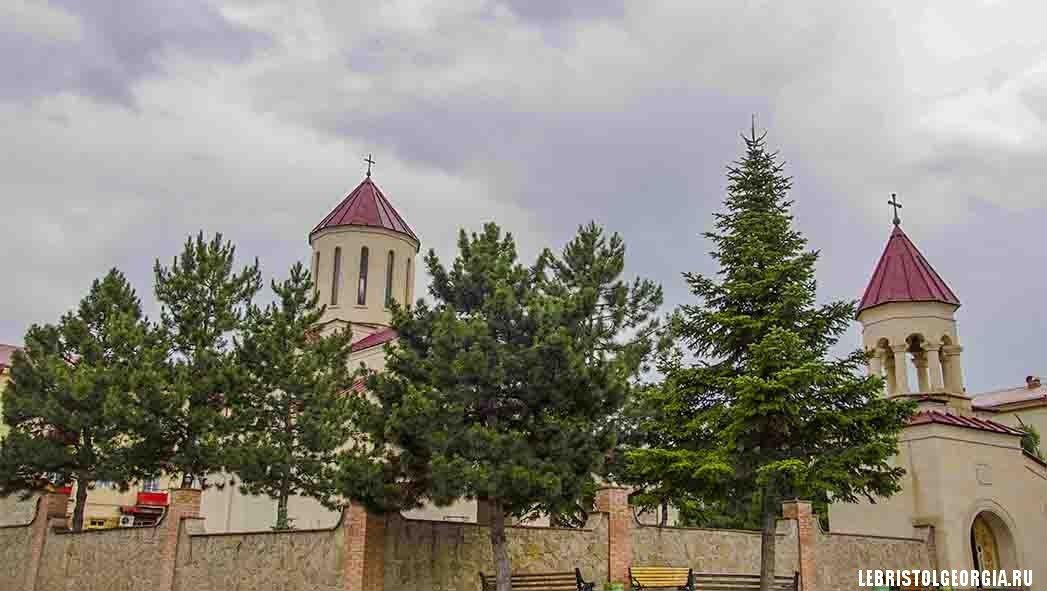 храм царицы Тамары в Ахалцихе