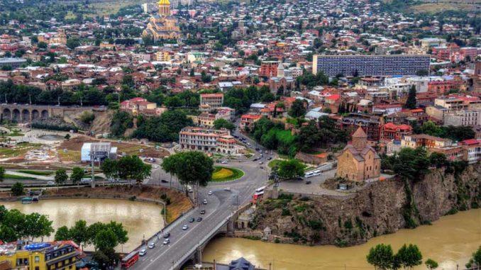 Площадь Горгасали в Тбилиси