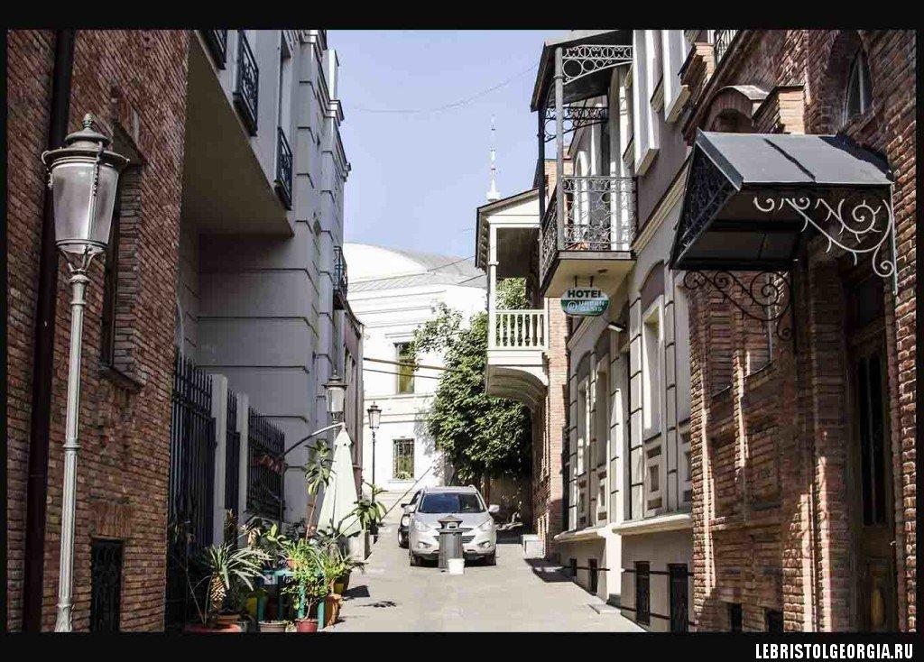 Улицы города Тбилиси