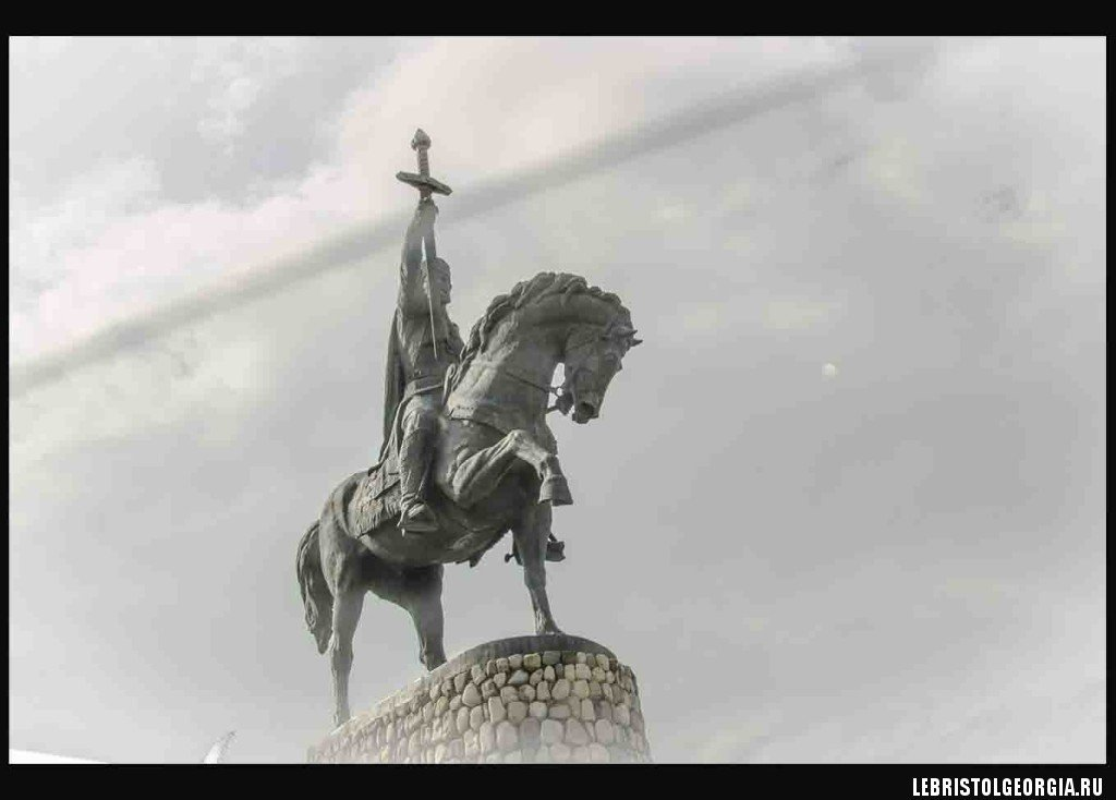 памятник Ираклию II