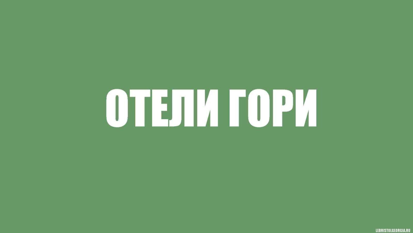 ОТЕЛИ ГОРИ