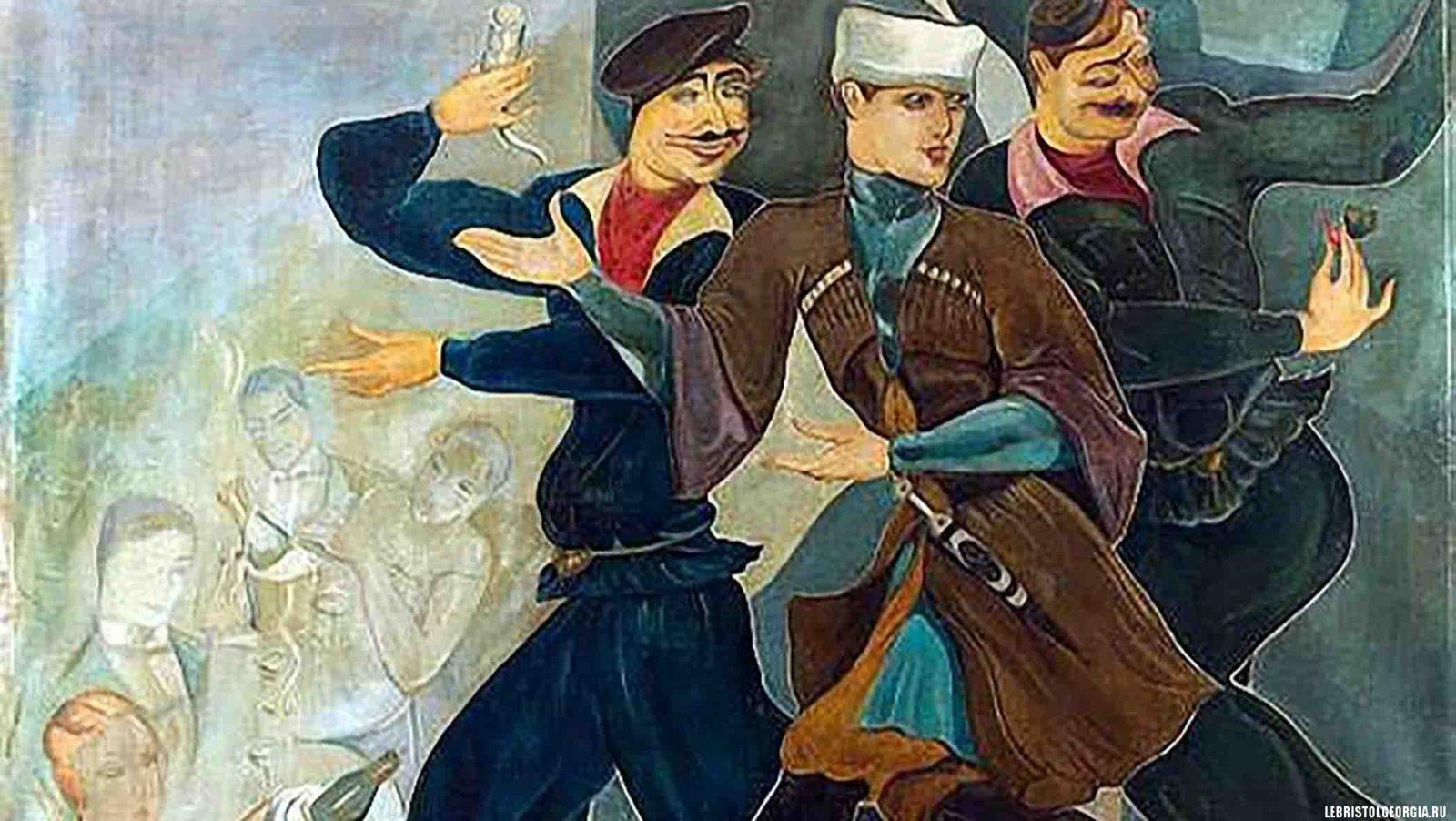 художник ладо гудиашвили
