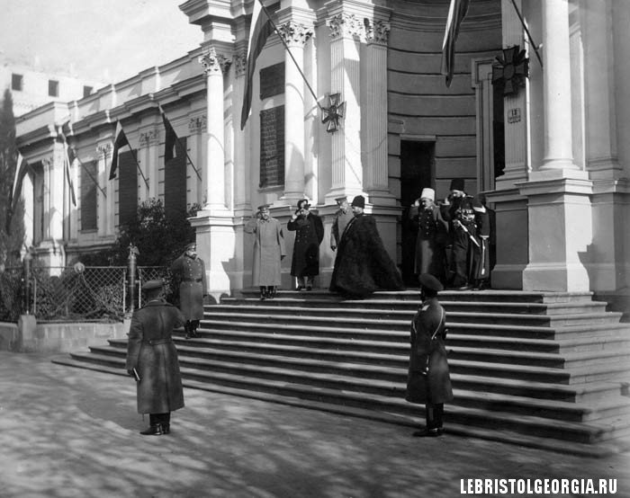 Николай II в тифлис